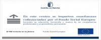EN ESTE CENTRO SE IMPARTEN ENSEÑANZAS COFINANCIADAS POR  EL FONDO SOCIAL EUROPEO: PMAR y LOS PROGRAMAS ILUSIONATE y TITULAS