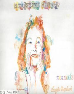 Cartel anunciador realizado por Ángela Mardari