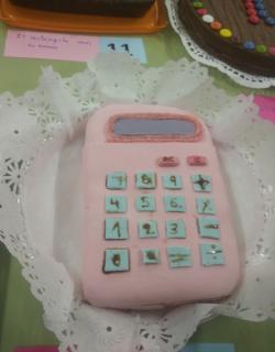 Calculadora rosa